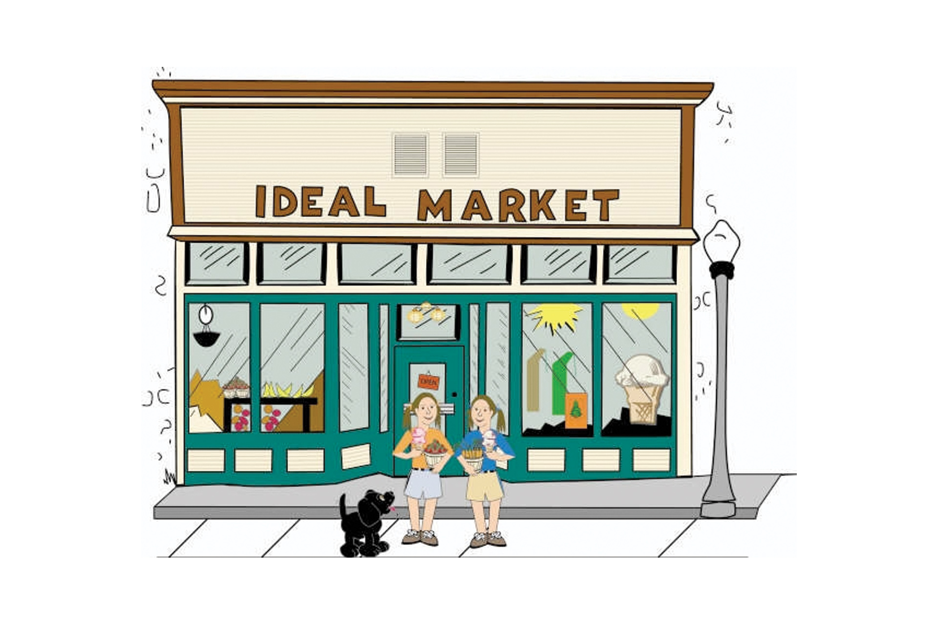 Ideal Market, Cable (WI)